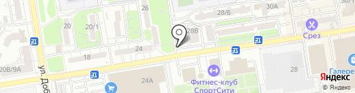 Медицина на карте Ростова-на-Дону