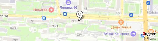Домашний бутик на карте Ростова-на-Дону