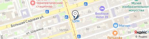 Билъярдная Лавъка на карте Ростова-на-Дону