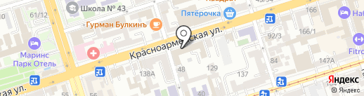 Русский Кодекс на карте Ростова-на-Дону