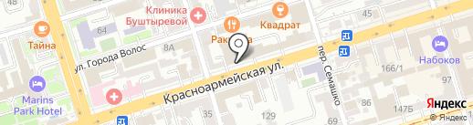 Адвокат Котенко А.Н. на карте Ростова-на-Дону