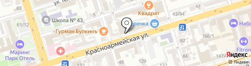 Шкаф Кроватъ на карте Ростова-на-Дону