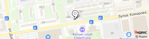 Северное сияние, ТСЖ на карте Ростова-на-Дону