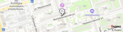 Ящик Beer & Craft на карте Ростова-на-Дону