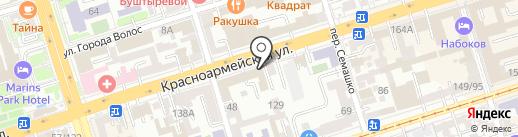Первая залоговая компания на карте Ростова-на-Дону