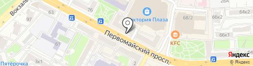Комиссионный магазин аудио, видео и бытовой техники на карте Рязани