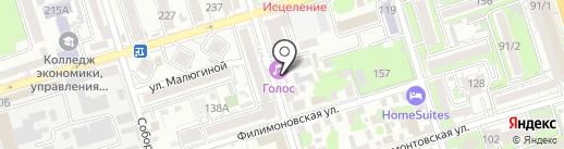 СИНТЕЗ ПЛЮС на карте Ростова-на-Дону