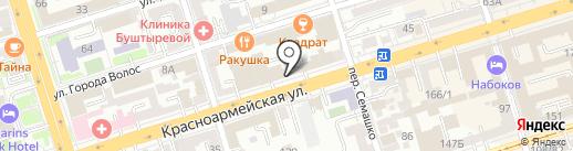 osago161.ru на карте Ростова-на-Дону