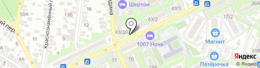Еврокосметология на карте Ростова-на-Дону