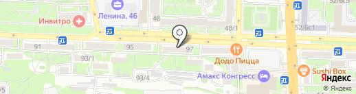 Наоми на карте Ростова-на-Дону
