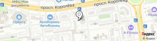 Домовёнок на карте Ростова-на-Дону