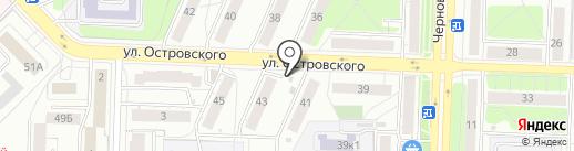 Продуктовый магазин на карте Рязани