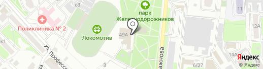 ДЮСШ Золотые купола, МАУ на карте Рязани