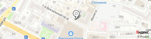 Ателье №1 на карте Рязани