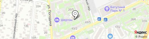 Служба сервиса складской техники на карте Ростова-на-Дону