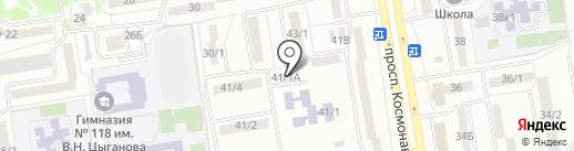 Монолит-Юг на карте Ростова-на-Дону