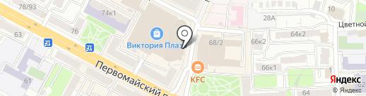 Парикмахерский на карте Рязани