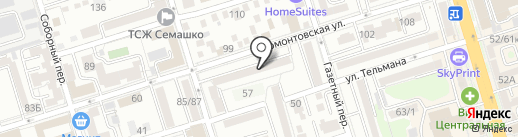 Домофёнок на карте Ростова-на-Дону
