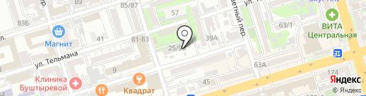 КАТАНА на карте Ростова-на-Дону