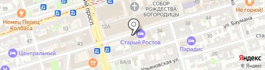 Торговая компания на карте Ростова-на-Дону