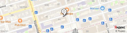 ПАРИТЕТДОН на карте Ростова-на-Дону