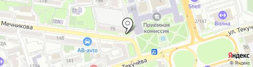 Фотовышка на карте Ростова-на-Дону