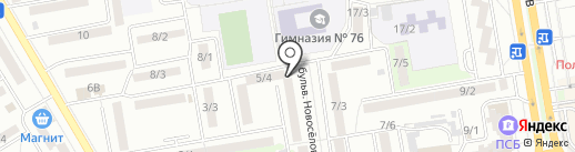 Преображение на карте Ростова-на-Дону