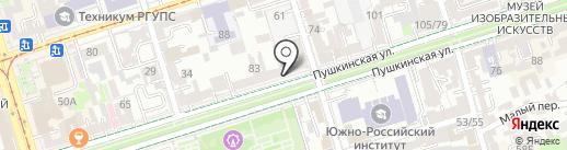 СтартРобот на карте Ростова-на-Дону