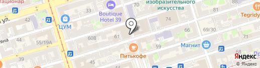 Штефан Бургер на карте Ростова-на-Дону