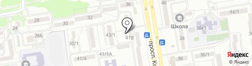 Qiwi на карте Ростова-на-Дону