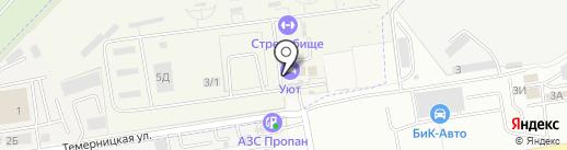 Спортивный стрелково-стендовый комплекс военно-охотничьего общества на карте Темерницкого