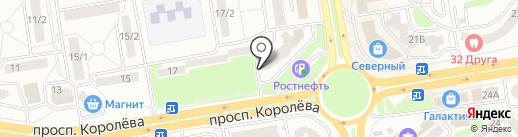 Достижение на карте Ростова-на-Дону
