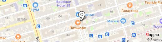 Quest House на карте Ростова-на-Дону