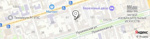ЭнергоЭффективность на карте Ростова-на-Дону