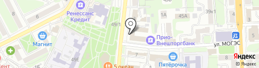 АВТОДОРСТРОЙ на карте Рязани