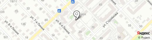 Жнеки на карте Рязани