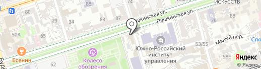 Автопоиск-юг на карте Ростова-на-Дону