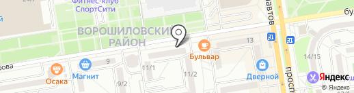 Умелые ручки на карте Ростова-на-Дону
