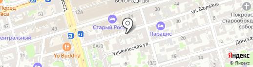 Дженнет на карте Ростова-на-Дону