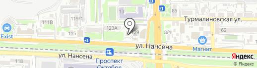 ВОГ-ЮГ на карте Ростова-на-Дону