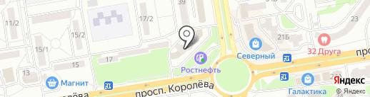 Магазин рыбы на карте Ростова-на-Дону