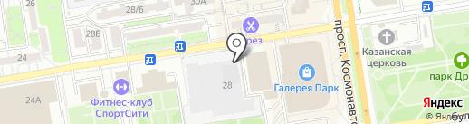 Пивбанкь на карте Ростова-на-Дону