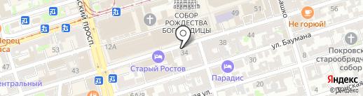 Стандарт на карте Ростова-на-Дону
