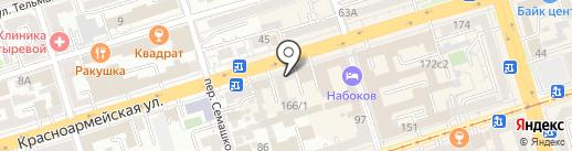 Цимлянские вина на карте Ростова-на-Дону