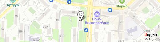 ENOT Smoke Shop на карте Рязани