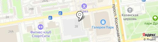 LOGO-ROSTOV на карте Ростова-на-Дону