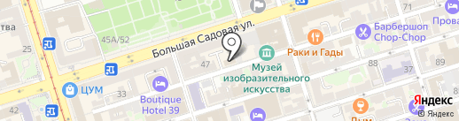 Мобильный мир на карте Ростова-на-Дону