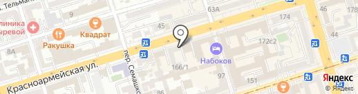 Спутник Стиль на карте Ростова-на-Дону