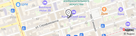 Мастерская по ремонту одежды на карте Ростова-на-Дону