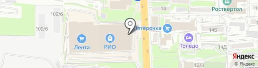 Спиридон на карте Ростова-на-Дону